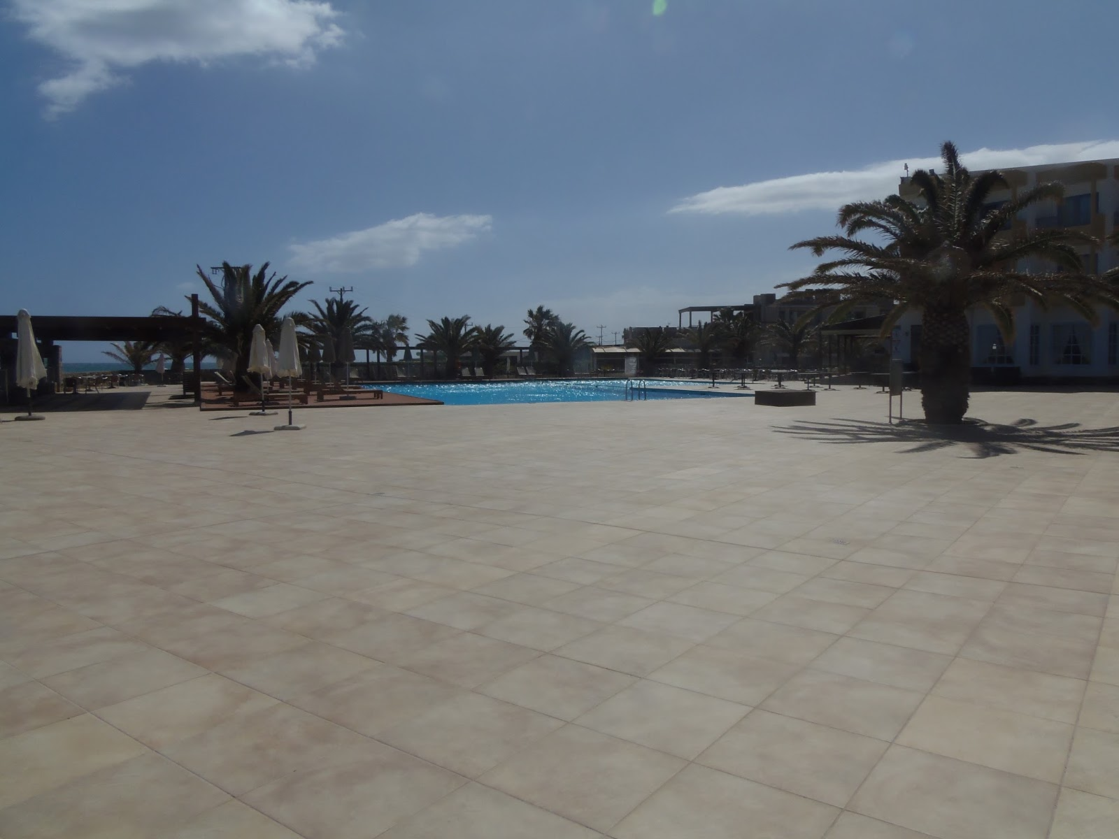 pool, swimming, lobby, reception, hotel, aphrodite beach club, holiday, greece, crete, greek islands, travel, travelling
