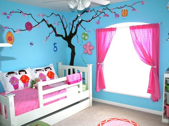 Id es couleur peinture chambre d 39 enfant - Peinture chambre d enfant ...