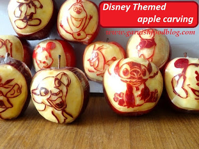 fruit gifts disney themed apples
