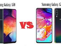 Kupas Tuntas Perbandingan Samsung Galaxy A50 VS Galaxy A70 - Siapakah Juaranya?
