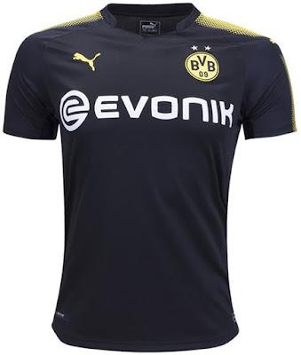 PUMA Borussia Dortmund Away Jersey 17-18