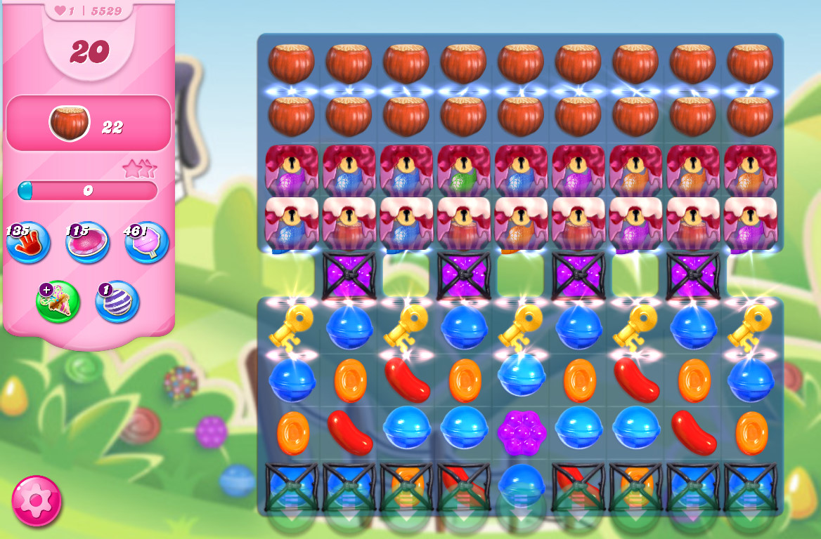 Candy Crush Saga level 5529