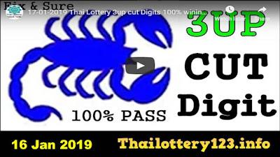Thai lotto VIP tips lottery Facebook win tips 16 January 2019