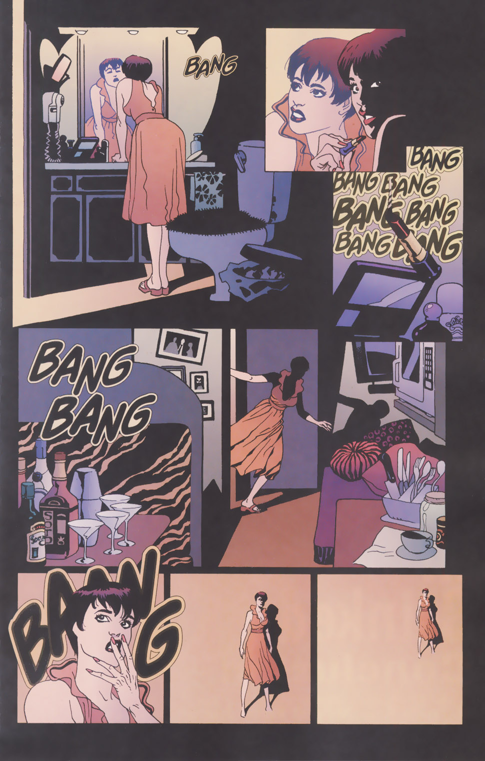 Read online 100 Bullets comic -  Issue #49 - 2