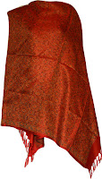 Brocade Silk Scarf Fashion Accessory from Banaras