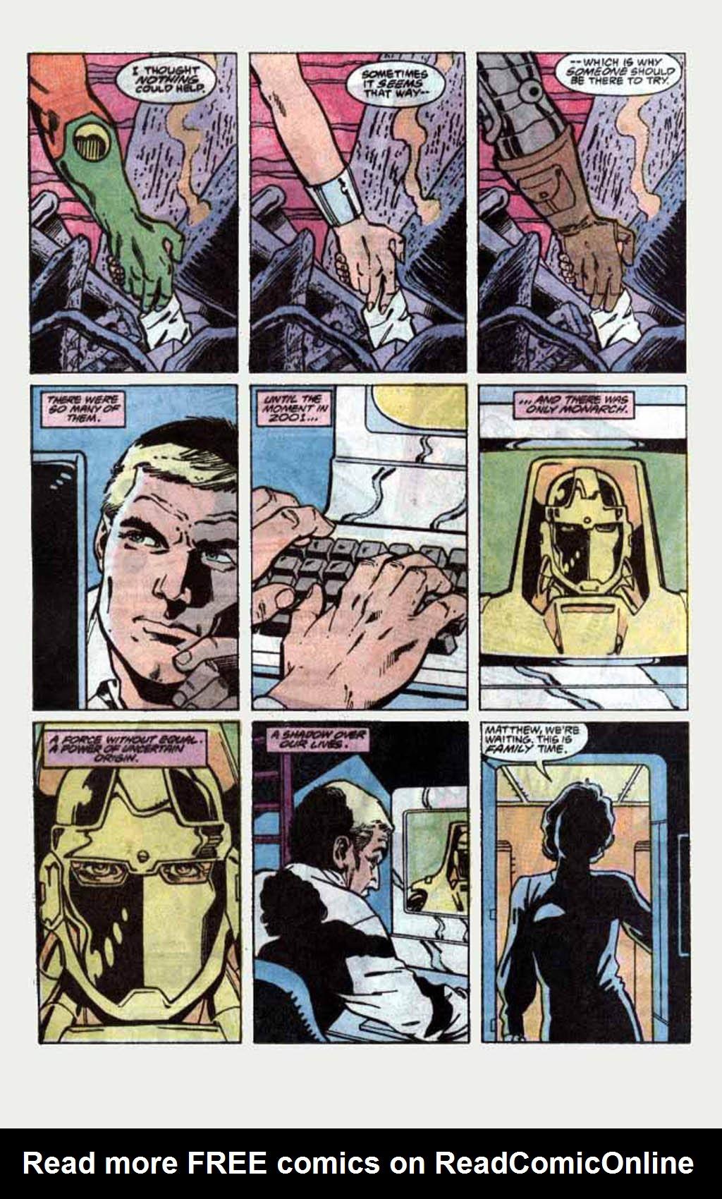 Read online Armageddon 2001 comic -  Issue #1 - 20