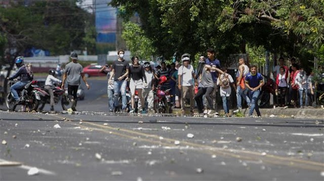 Thousands of Nicaraguans protest social security changes