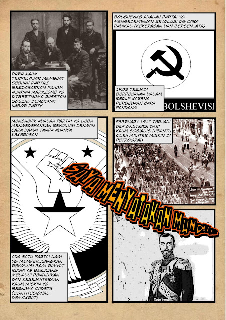 komik revolusi rusia