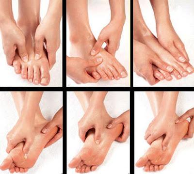 Phương pháp massge chân đem lại sức khỏe cho con người