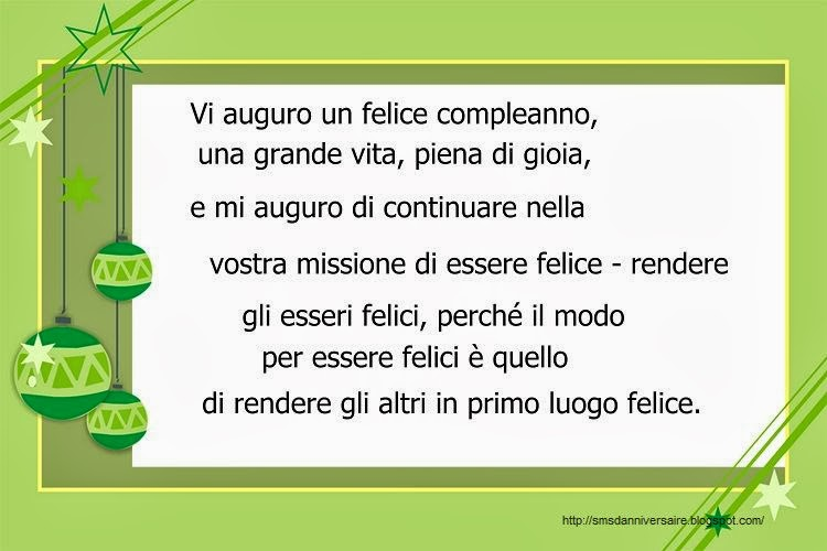Sms Anniversaire En Italien Loolbook