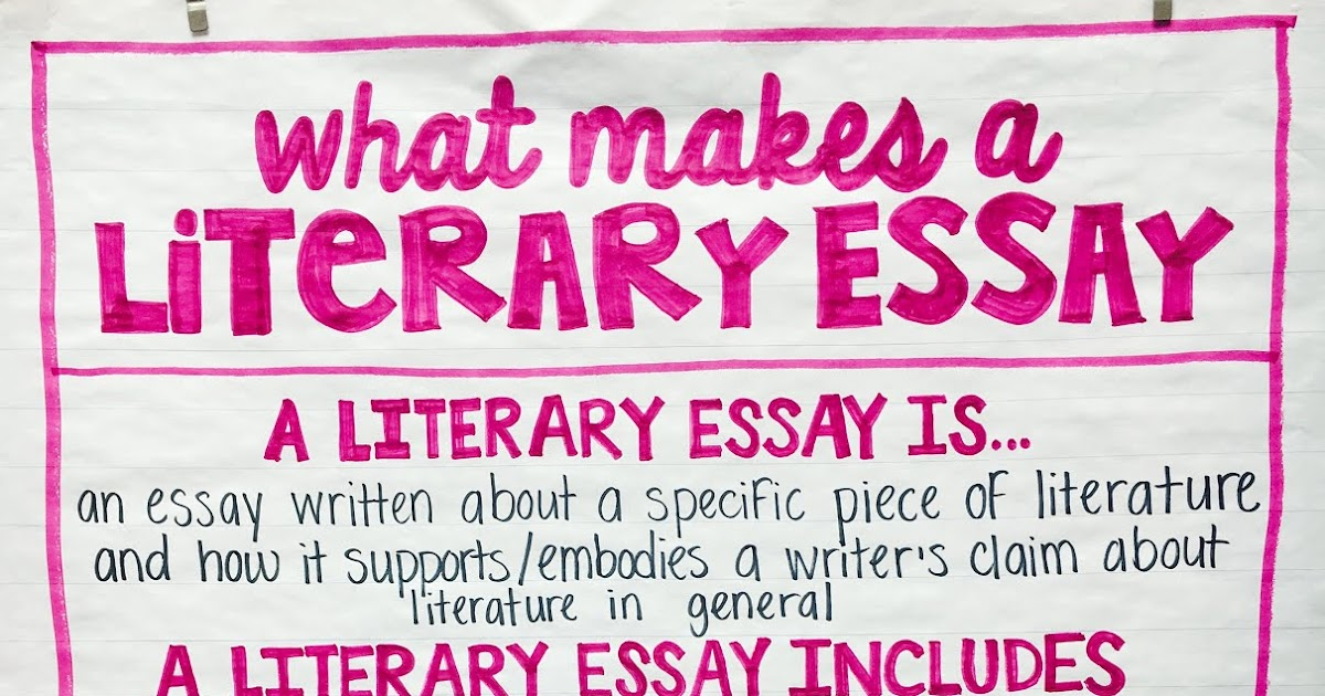 Literary Essay - Teaching to the Test-Taker