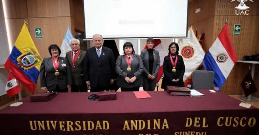 La Universidad Nacional de Ingeniería (UNI) y la Universidad Andina del Cusco (UAC), universidades con Licenciamiento, suscribieron convenios para reforzar aspectos académicos, de investigación y cultural