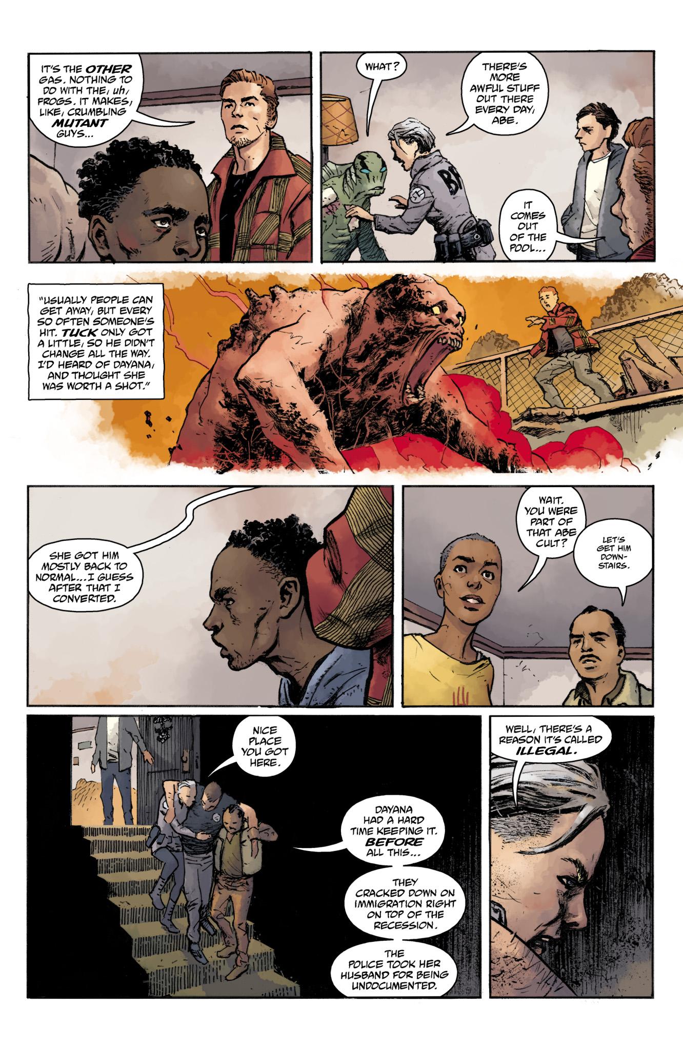 Read online Abe Sapien comic -  Issue #16 - 21