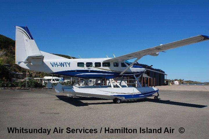 Central Queensland Plane Spotting: New Cessna Caravan Float