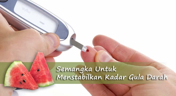 Menstabilkan Kadar Gula Darah Dengan Buah Semangka
