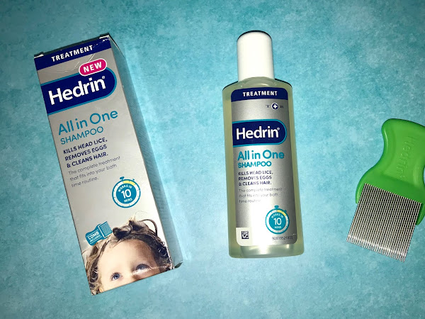 Treating Head Lice with Hedrin All In One Shampoo