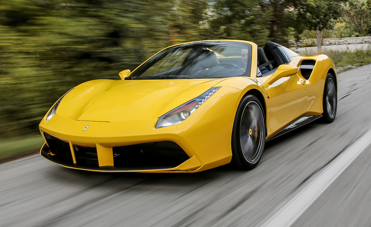 2016 Ferrari 488 Spider Car Review Top Sd Red Bull
