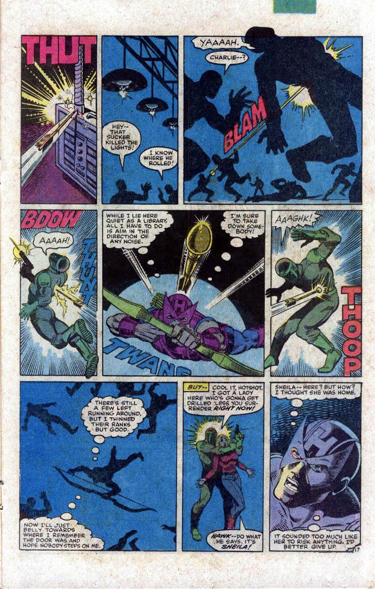 Hawkeye (1983) Issue #1 #1 - English 18
