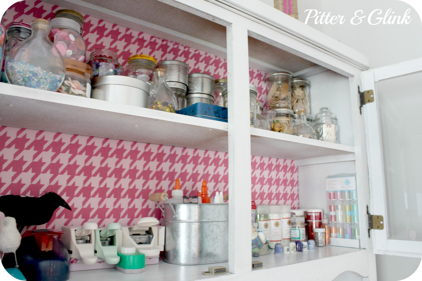 Craft Room Organisation: Craft Room TOUR With Pitter And