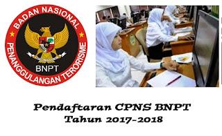 pendaftaran cpns BNPT 2018