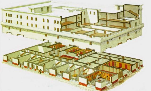 Edificio de la antigua Roma