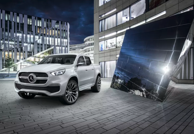 2018 This is Mercedes-Benz's new Premium Pick-Up Truck Redesign
