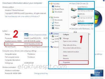 Cara Mengetahui Laptop Windows 32 Bit atau 64 Bit
