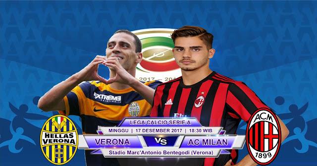 Hellas Verona vs AC Milan 17 Desember 2017