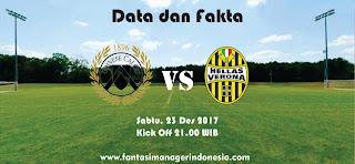 Data dan Fakta Liga Fantasia Udinese vs Verona Fantasi Manager Indonesia
