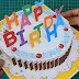 DIY : 3D Happy Birthday Cake Card (Popup Card) Tutorial