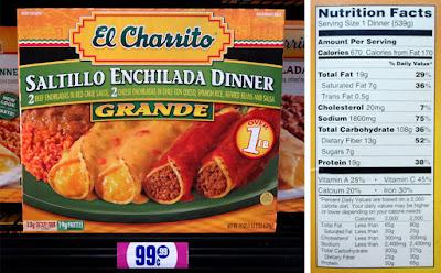 Saltillo Enchilada Dinner - Deal of the Day