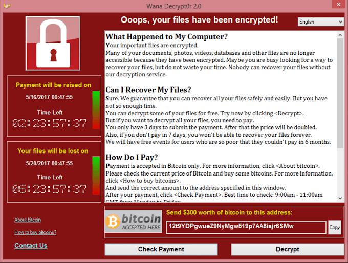 WannaCry இணைய தாக்குதல் - செய்ய வேண்டியது என்ன?