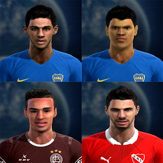 Facepack Vol.1 Liga Argentina Pes 2013 By Frank
