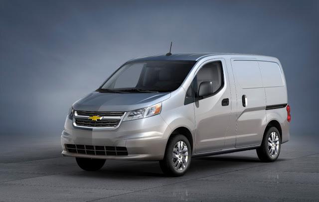 2015 Chevrolet City Express grey