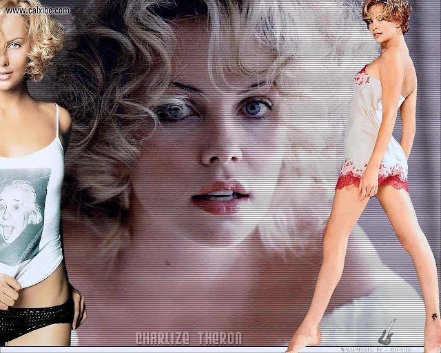 Charlize Theron - Lingerie Fashion