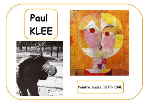 Paul Klee - Portrait d'artiste en maternelle
