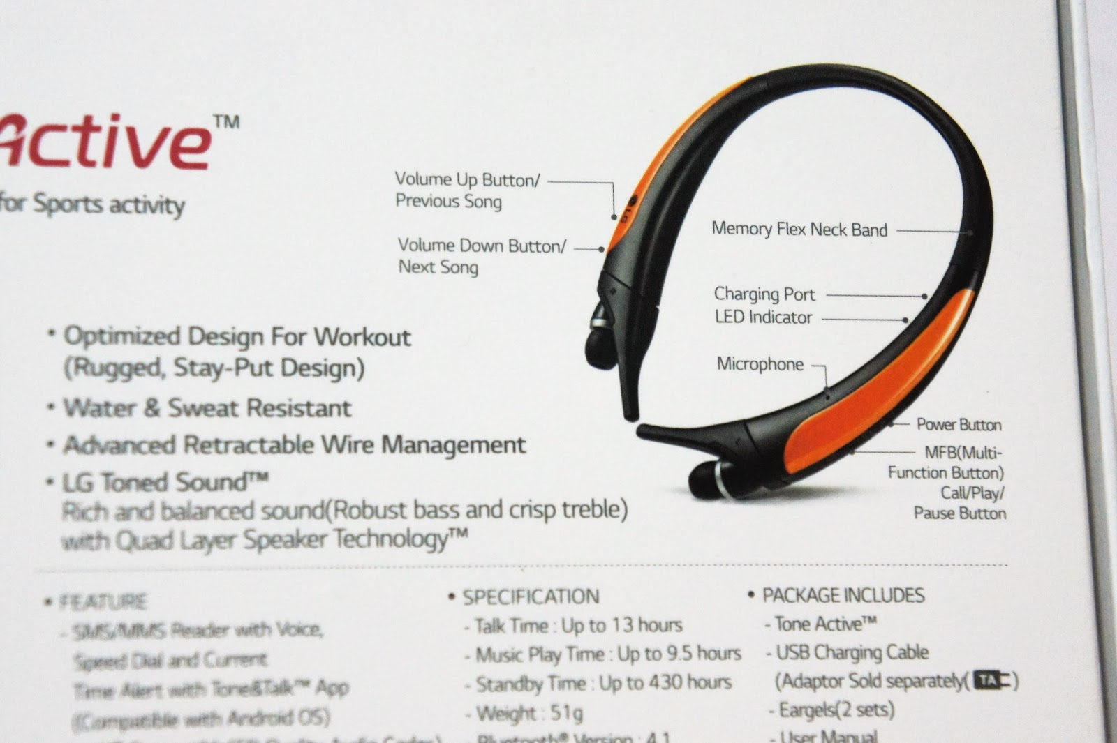 The Best Bluetooth Sports Headset? Part 2 : LG TONE Active