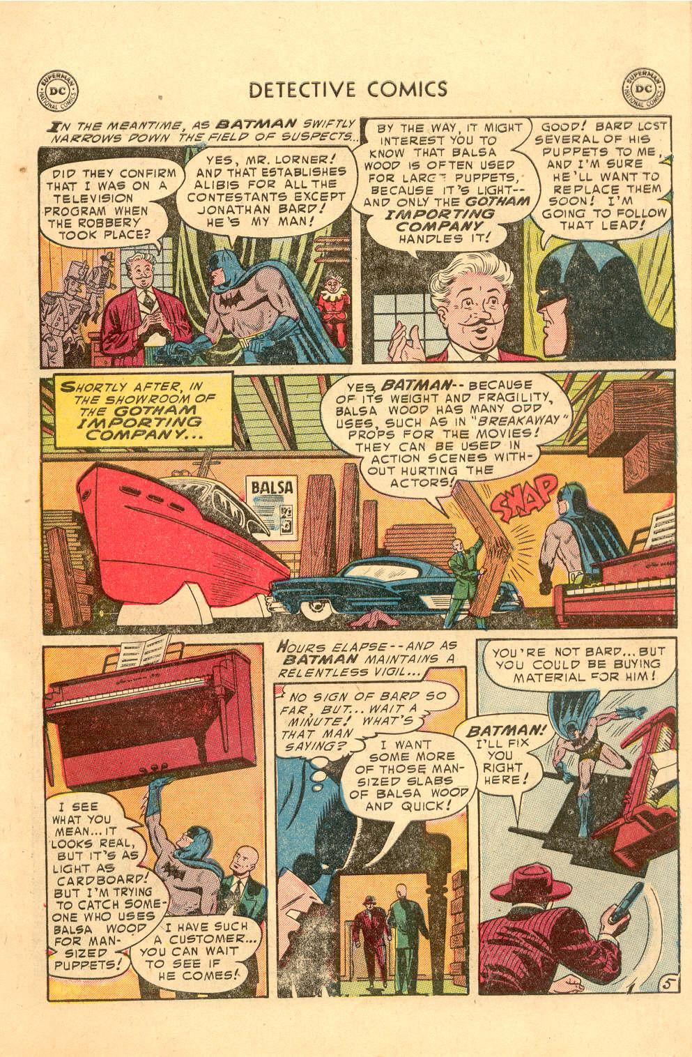Read online Detective Comics (1937) comic -  Issue #212 - 6