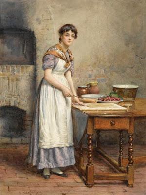 George Goodwin Kilburne, Cherry Pie, collezione privata