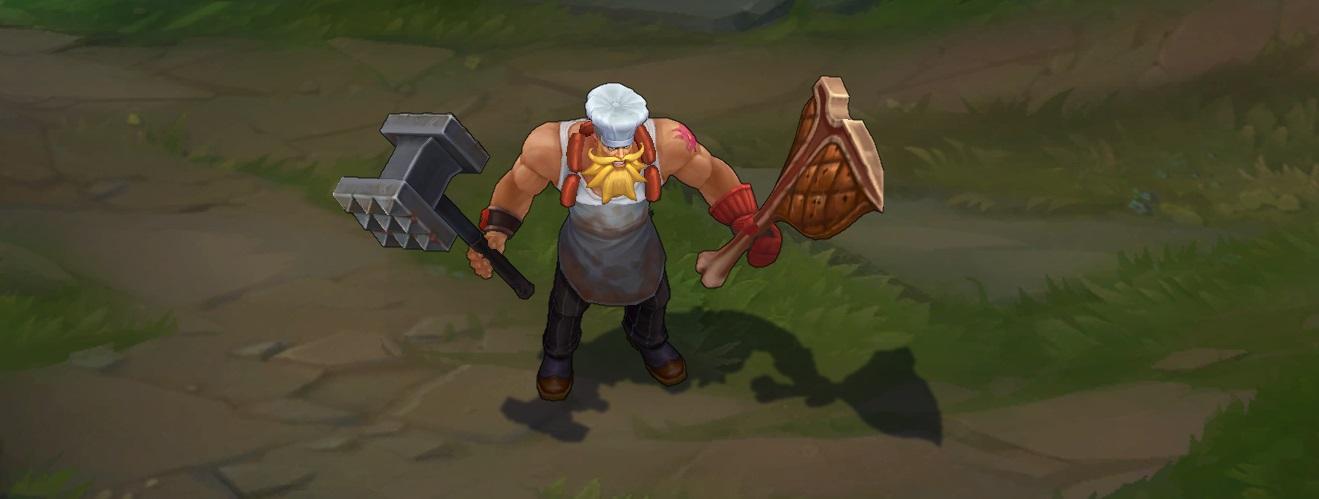 Cập nhật thêm 4 skins dành cho gói trang phục đầu bếp (Chef skin)
