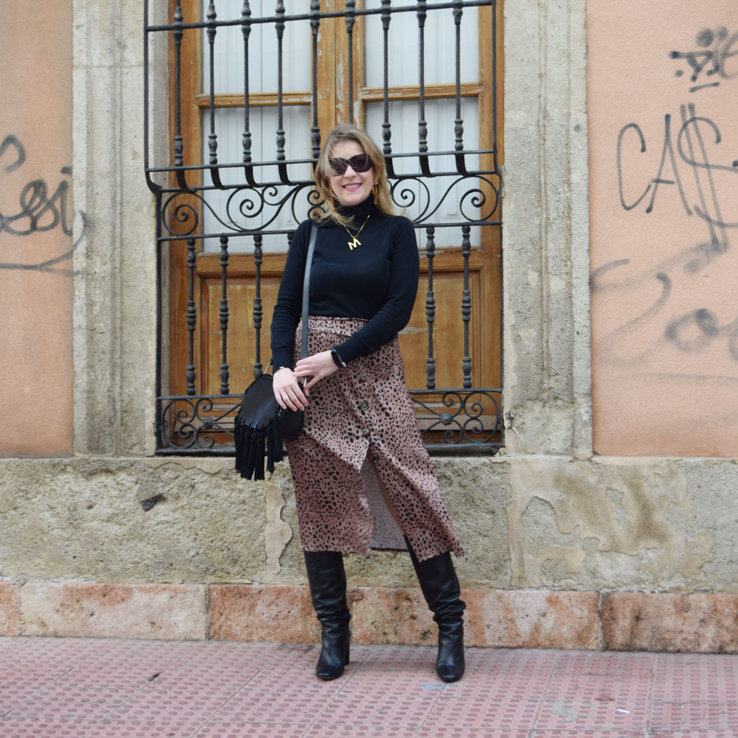 falda_skirt_animal_print_negro_black
