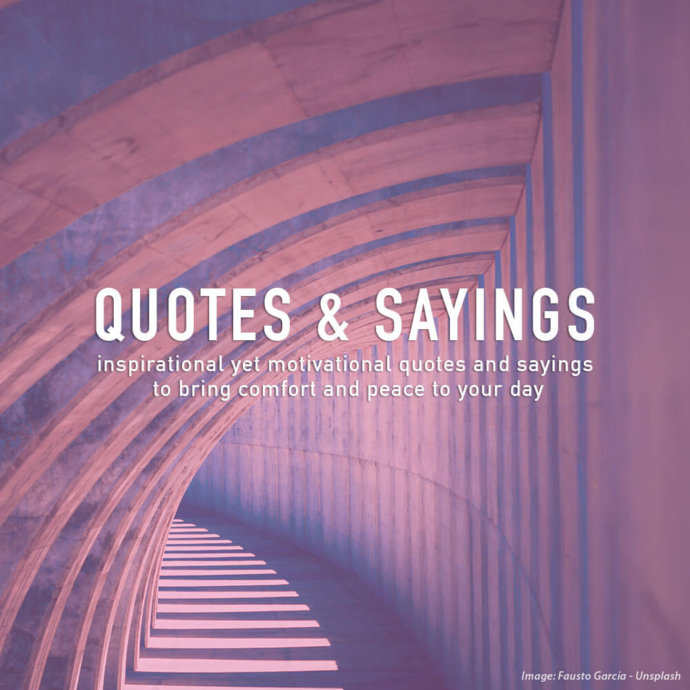 11 Quotes & Sayings About Life