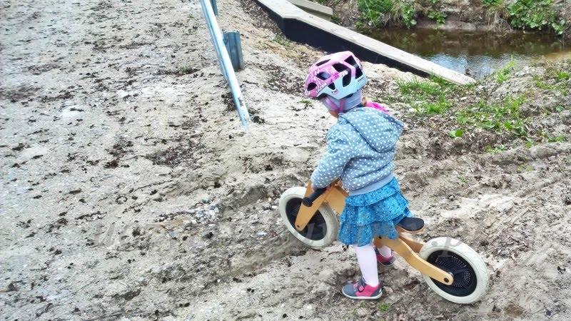 Rowerek biegowy - 3-latka