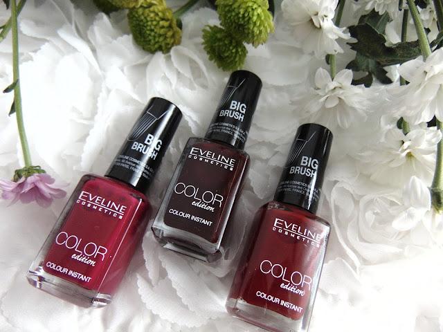 Color Edition od Eveline Cosmetics - Różne odcienie czerwieni