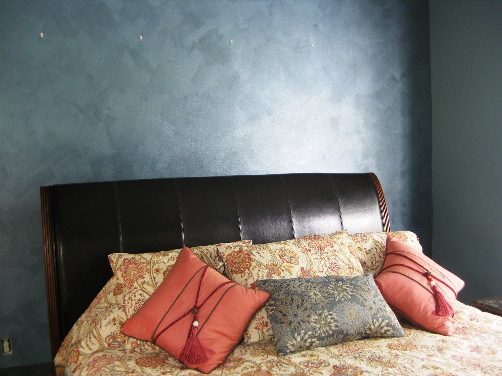 Array of color inc: Metallic painted accent wall