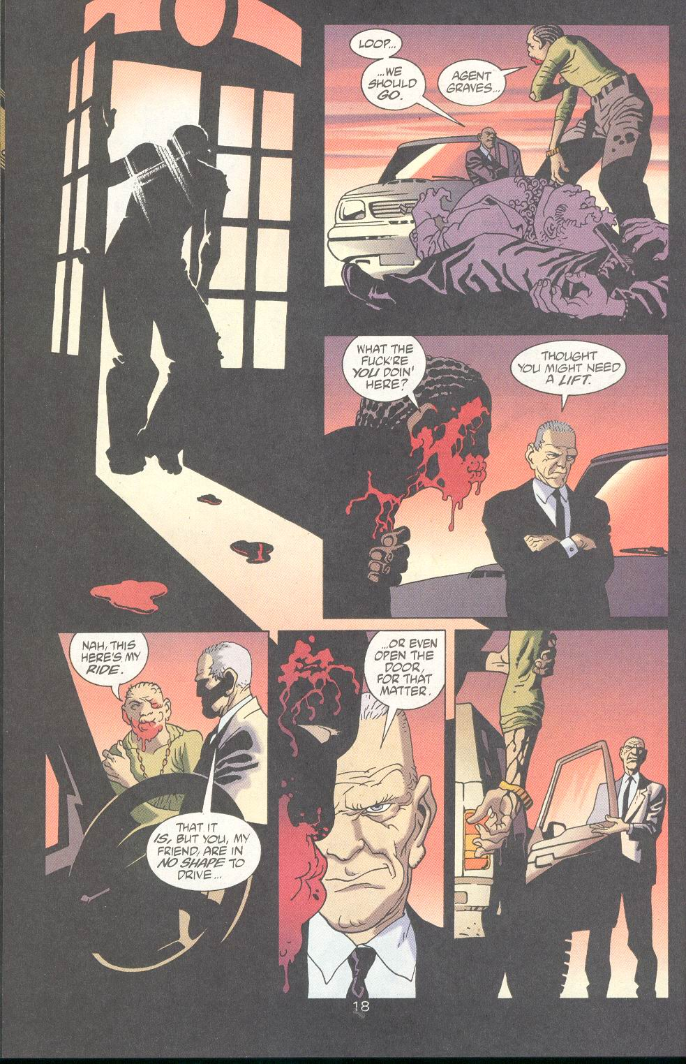 Read online 100 Bullets comic -  Issue #18 - 20