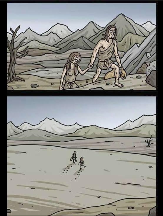 Truyen tranh bua ve Adam va Eva