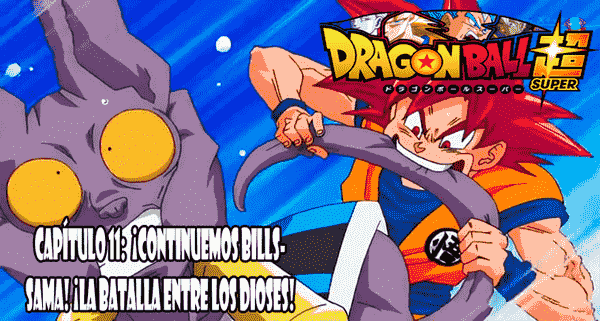 Ver capilo 11 online gratis, Goku empizaa demostrar el verdadero poder de Dios Super Saiyajin.