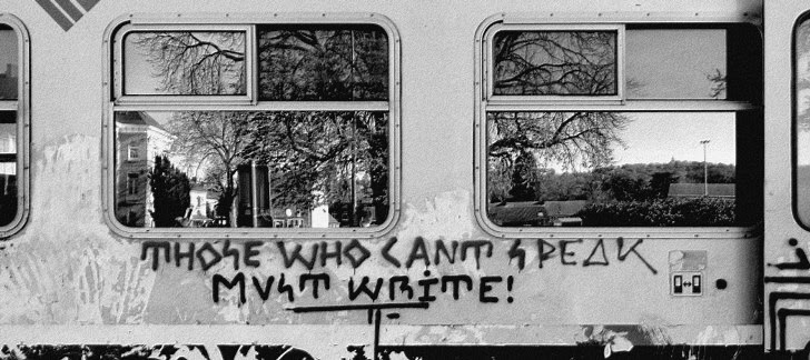 - Graffiti Art On Trains -