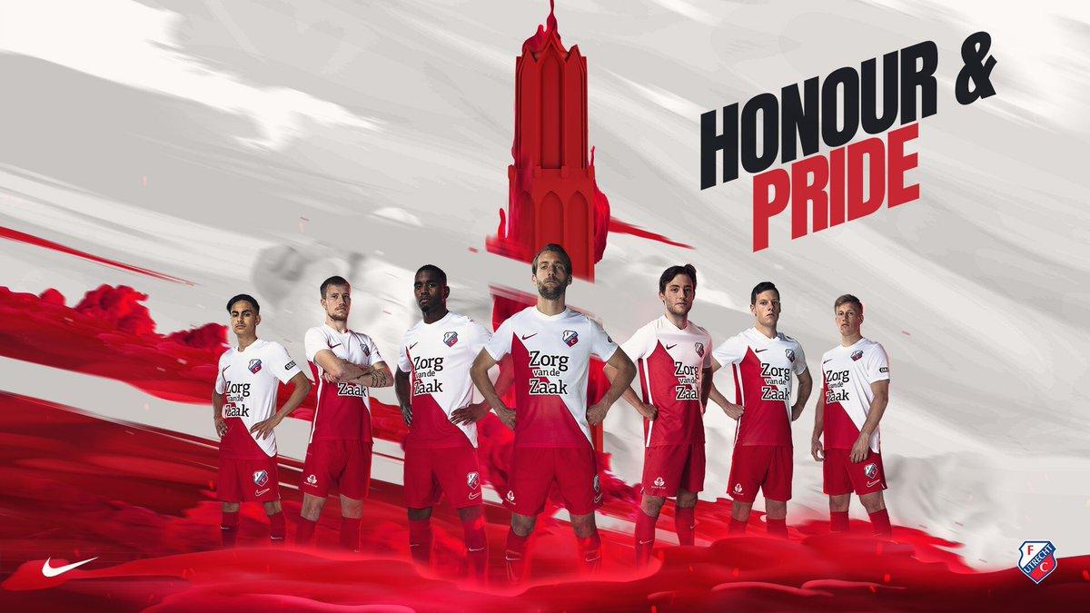 No More Hummel Nike Fc Utrecht 19 20 Home Kit Released Footy Headlines